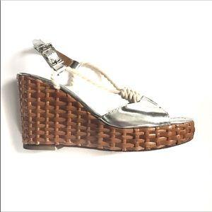Tory Burch espadrilles/chunky heel